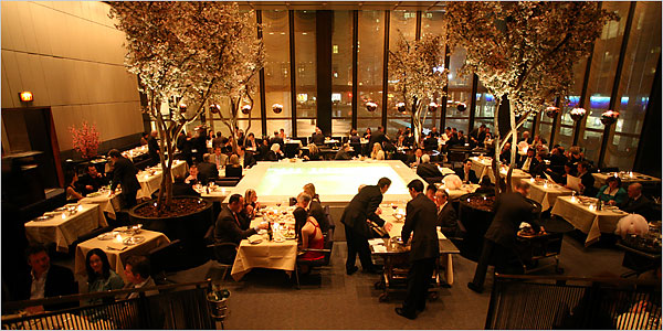 The Four Seasons Restaurant, New York | CARLTON GROVE by Abby